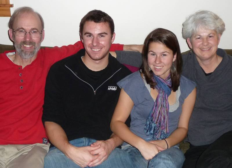 November 2008 Photo of David E. Ortman/Ann E. Marchand